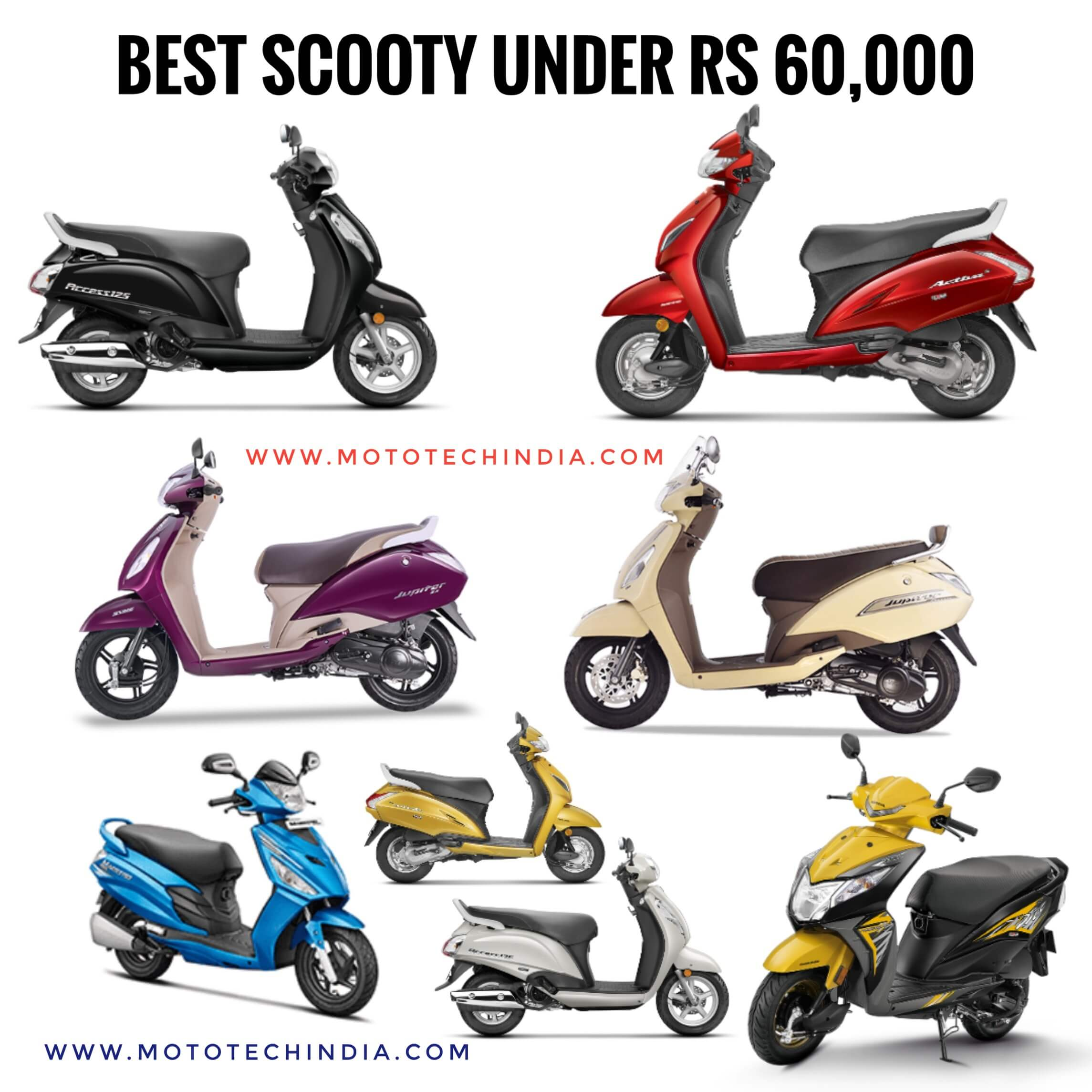 best-scooty-under-60000