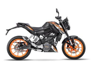 KTM Duke 125: Price, Specs, Mileage, and Review.