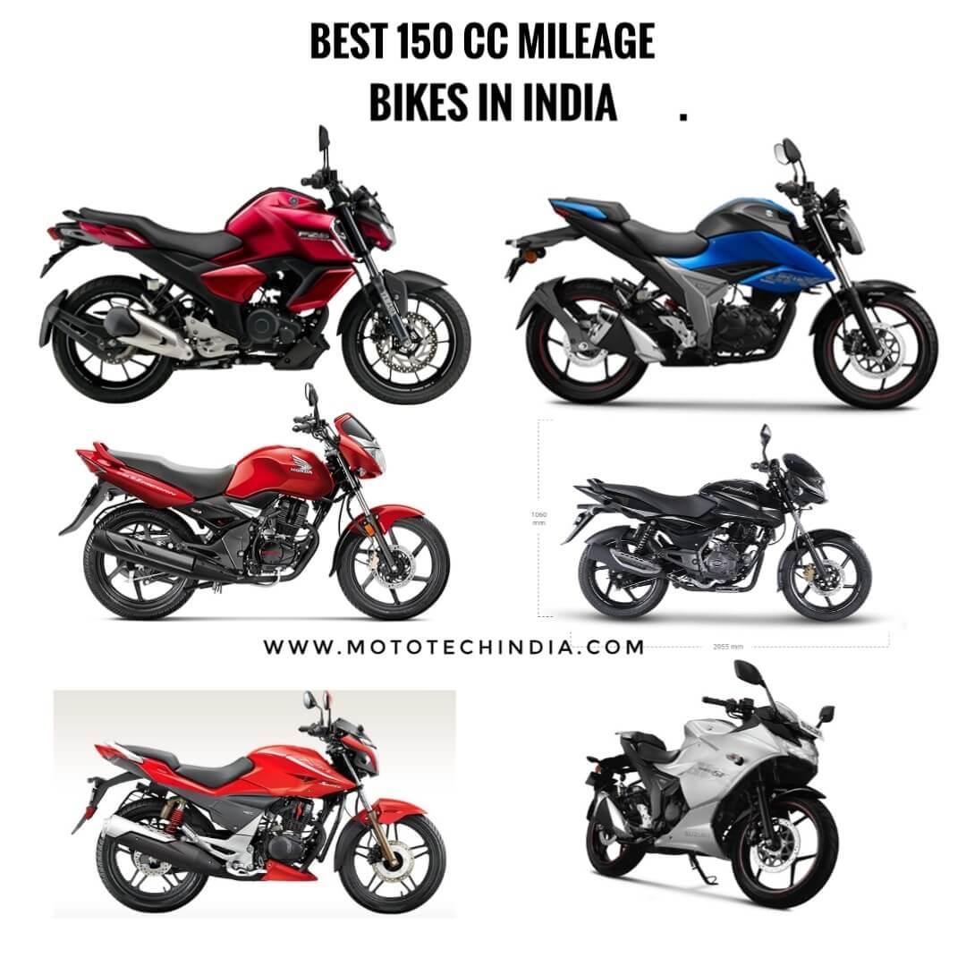 Best 150cc mileage bikes in india