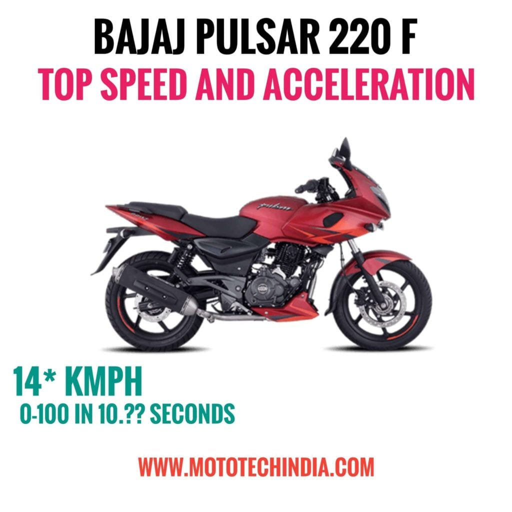 pulsar 220 top speed