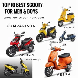 Best Scooty For Men & Boys In India | High Performance & Stylish