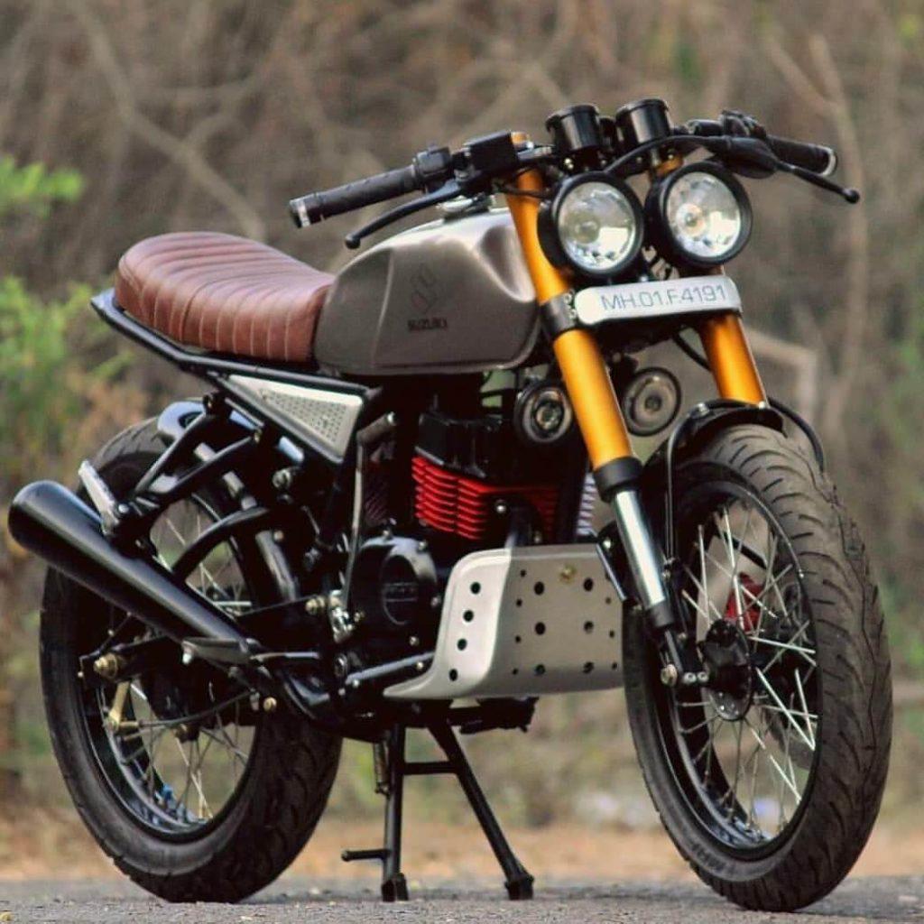 modified Suzuki max 100