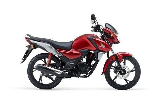 Honda CB125F red