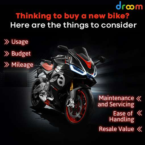 Things to consider before buying a new bike